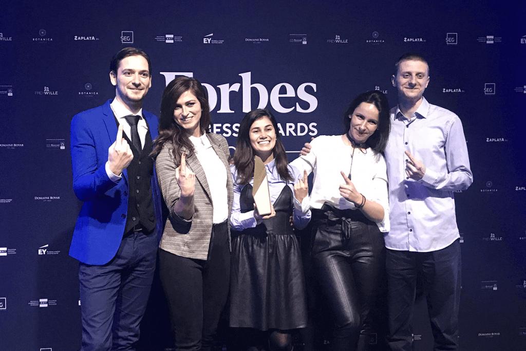 Iuvo company of 2020 award in finance category